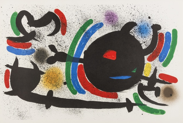 Joan Miró, 'From Lithographie I (M 860, 865, 866) (three works)', 1972, Forum Auctions