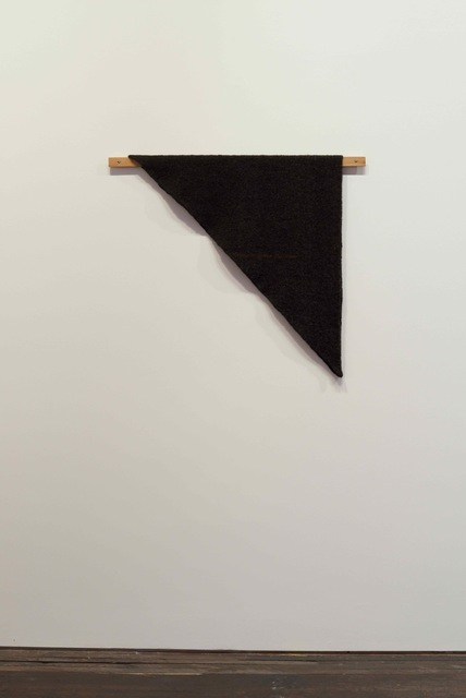 , 'Waulked Triangle, NH01/CT04d,' 2014, Marianne Boesky Gallery