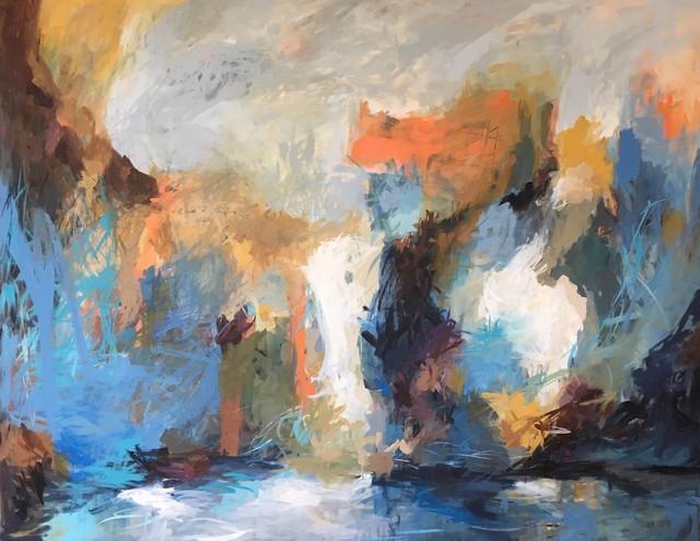 Carol Browning, 'Calypso Cascade', 2019, Walker Fine Art