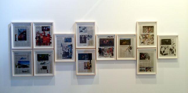 , 'Prueba de color,' 2014, Galería Juana de Aizpuru