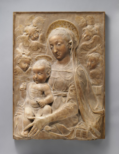 Antonio Rossellino, 'Madonna and Child with Angels', ca. 1455–1460, The Metropolitan Museum of Art
