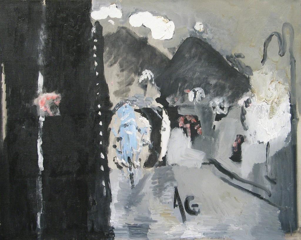 Paesaggio di Asolo (1999) Alberto Gianquinto. Works 1961 - 2000 November 17, 2006 - January 12, 2007