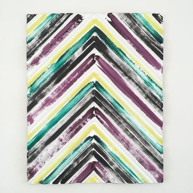 , 'Black, Yellow, Green, Purple,' 2016, Etage Projects