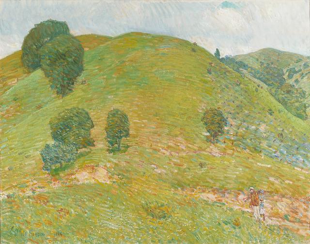 Childe Hassam, 'California Hills in Spring (The Little Vineyard)', 1914,  M.S. Rau Antiques
