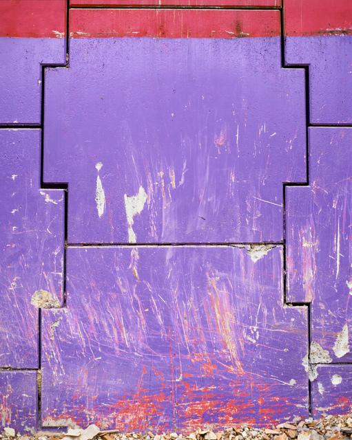 , 'Da série: El dibujo, la escritura , la abstracción (La Abstracción I, Morada),' 1997-2012, Galeria Luisa Strina