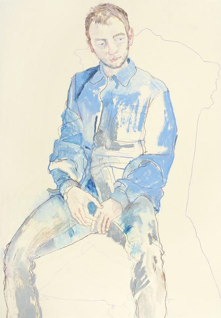 , 'Ali Blue Suit,' 2012, 10 Hanover