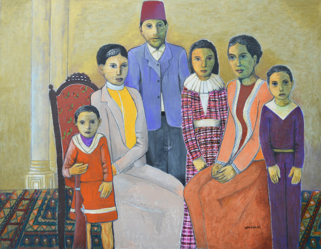 , 'Family from Jerusalem (1920s),' 2014, Zawyeh Gallery