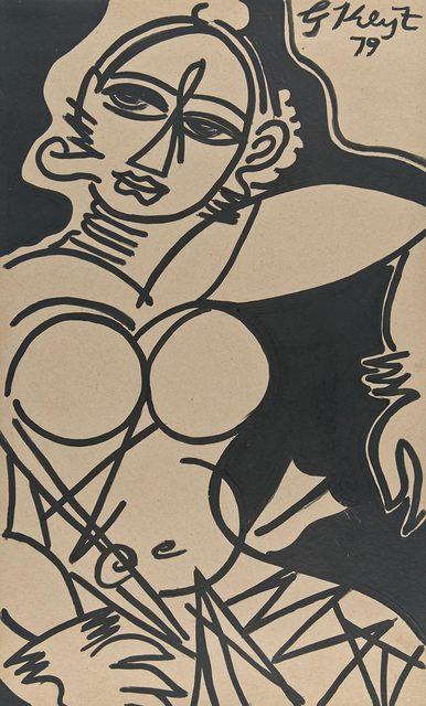 George Keyt, 'Dancer', 1979, Doyle