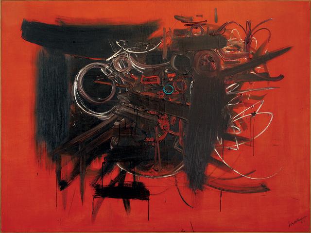 , 'Composition,' 1951, Dellupi Arte