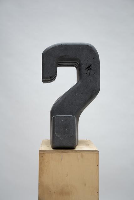 , 'Interrogante [Interrogative],' 2017, Galeria Luisa Strina