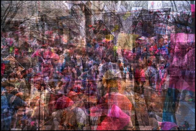 , 'Women's March on Washington 3,' 2017, Hosfelt Gallery