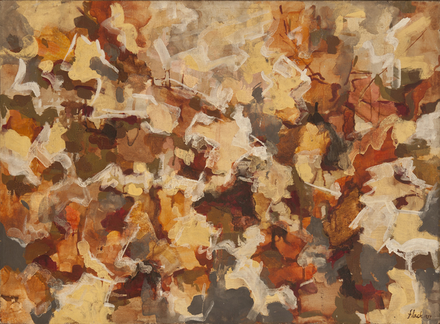 , 'Abstract Expressionist Autumn Sky,' 1953, Hollis Taggart Galleries