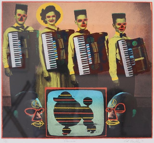Ed Paschke, 'Flamenco', 1991, Aaron Galleries