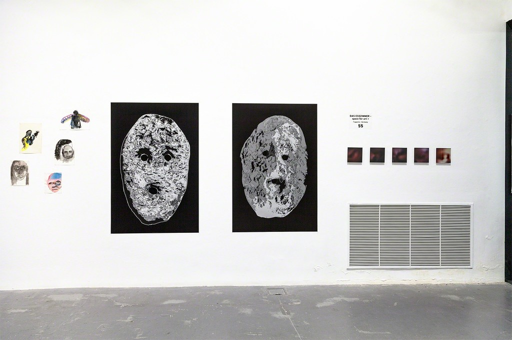 installation view Booth 55 at independent art fair Platforms Project, Athens (GR), 2018
