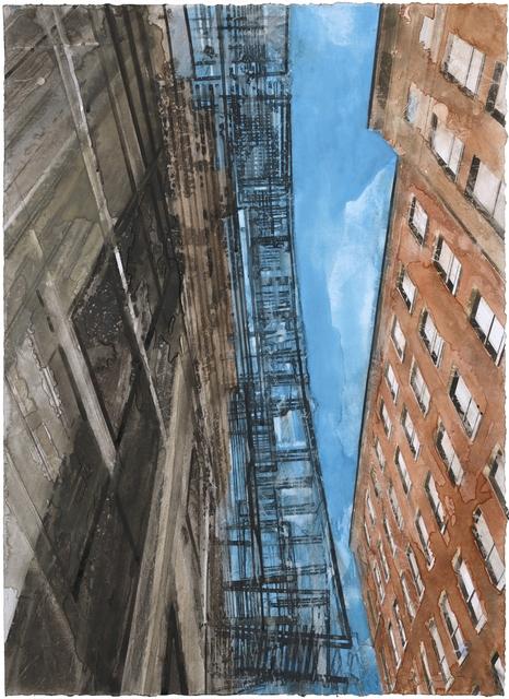 Gottfried Salzmann, 'New York escalier de secours II', 2017, Galerie Arcturus
