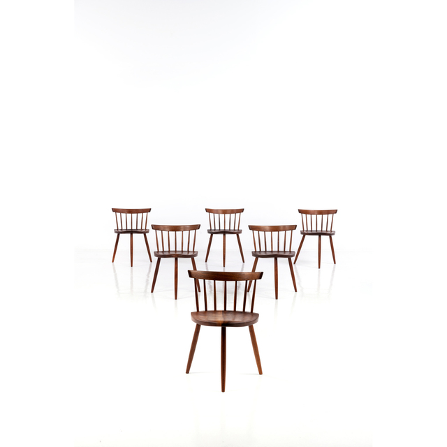 George Nakashima, 'Mira - Set Of Six Chairs', 1965, PIASA