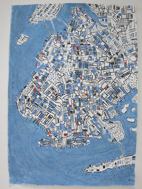 , 'Jazz Brooklyn,' 2014, Rebecca Hossack Art Gallery