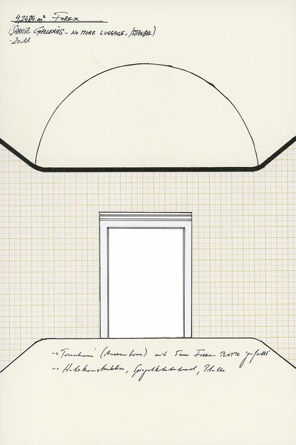 """, '""""4,2484 m2 Forex"""",' 2011, Raum mit Licht"""