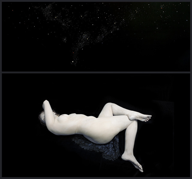 , 'With Curves of Moon. Audrey in Cosmos I, 2014,' 2014, Blindspot Gallery
