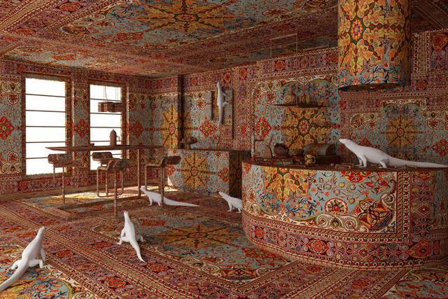 Farid Rasulov, 'Iguana in the kitchen', 2014, Sanatorium