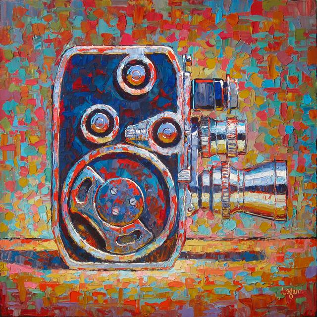 Raymond Logan, 'Bole Paillard 8mm Movie Camera', 2017, George Billis Gallery