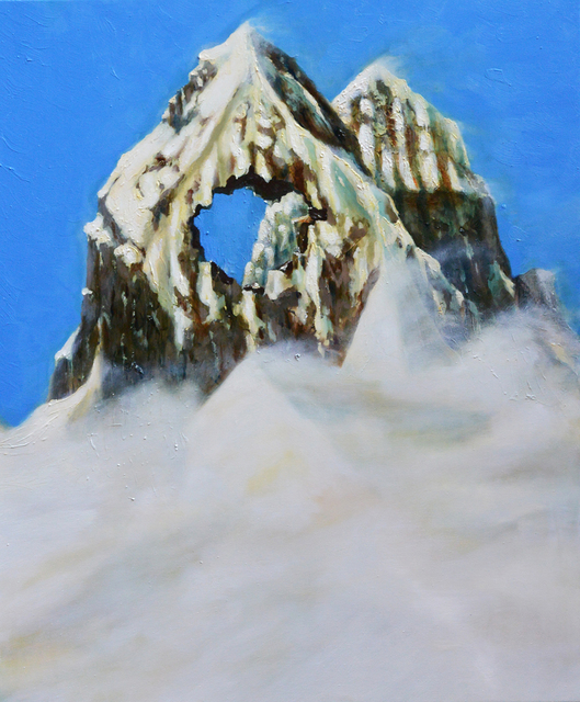 , 'Non tutte le montagne vengono con il buco (Mount Cuguluf),' 2015, MONITOR
