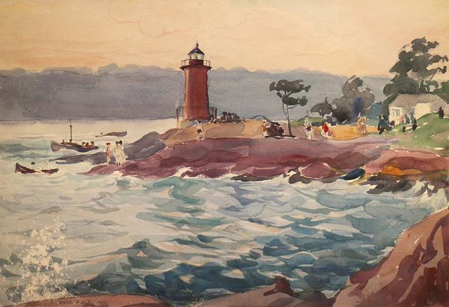 Waldo Park Midgley, 'Mountauk Point', 1922-1942, Phillips Gallery