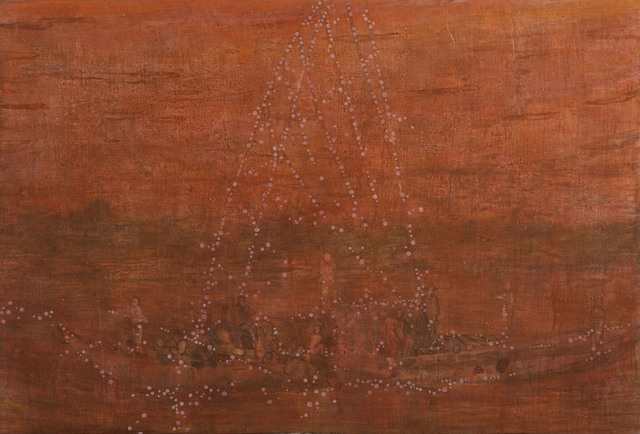 , 'Star Boat,' 2014, Aye Gallery