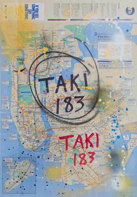 TAKI 183, 'UNITED MAP 3', 2011, Gallery 32