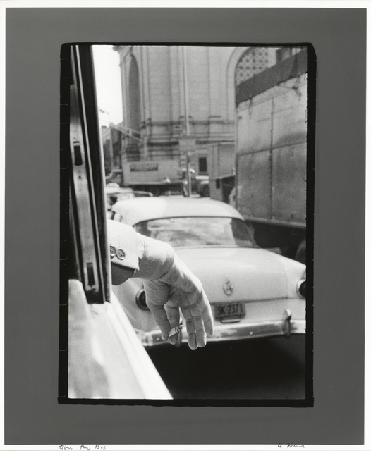 , 'From the Bus, New York,' 1958, Pace/MacGill Gallery
