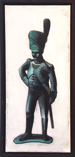 Dim Yuz, 'Toy soldier1', 2010, Painting, Oil on canvas, Dan Gallery