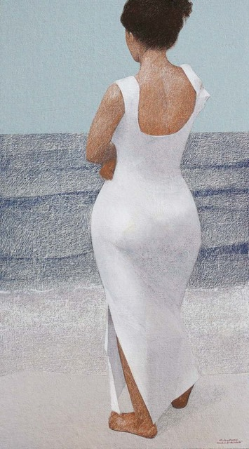 , 'Model By Sea LN,' 2008, Hafez Gallery