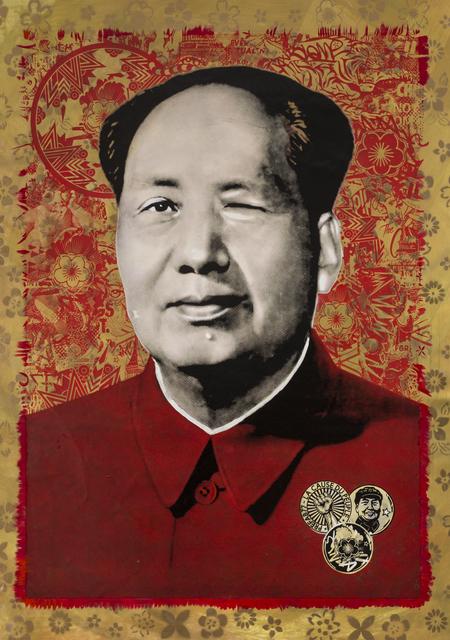 , 'Cocky Mao,' 2017, Jonathan LeVine Projects