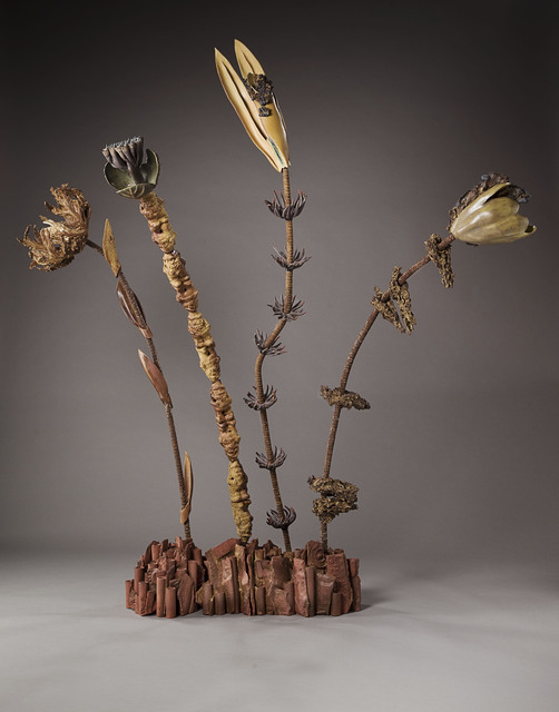 , 'Four Rebar Flowers,' , Clark Gallery