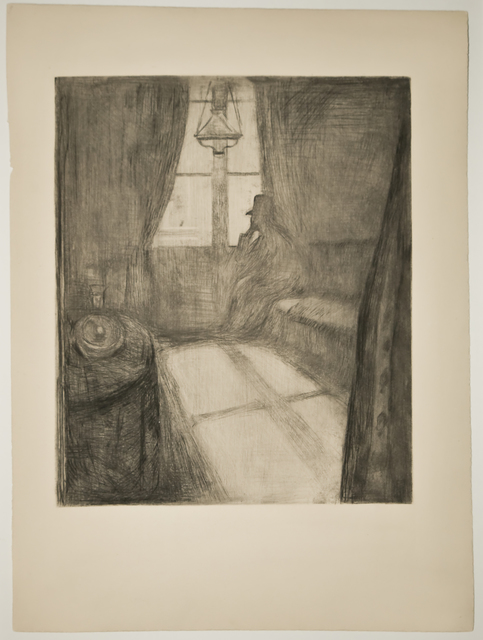 Edvard Munch, 'Måneskinn. Natt i Saint-Cloud (Moonlight. Night in Saint-Cloud)', 1895, John Szoke
