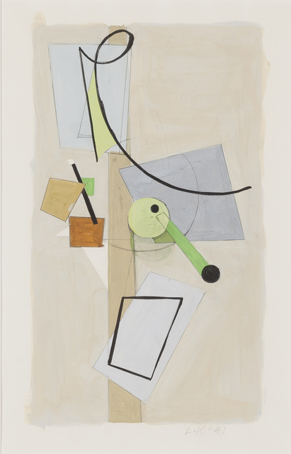 , 'Untitled (Gouache No.1),' 1941, Childs Gallery