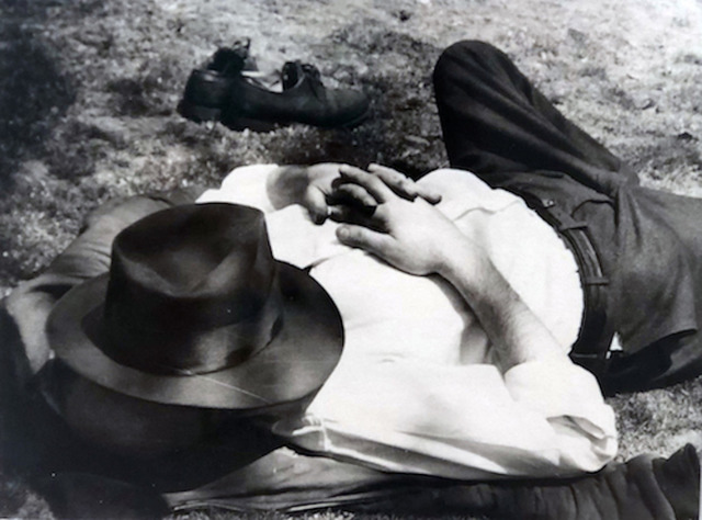 Vivian Maier, 'Man with Hat Sleeping', KP Projects