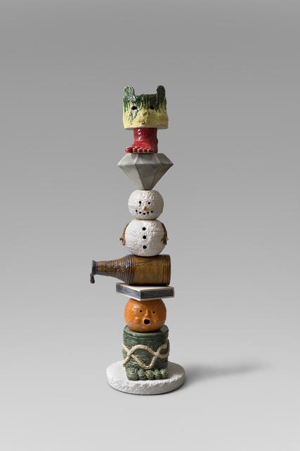 , 'Totem, Chinese Self Portrait,' 2018, Richard Heller Gallery