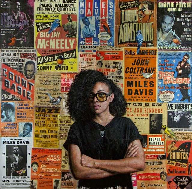 , 'Talkin' All That Jazz,' 2018, Christian Marx Galerie