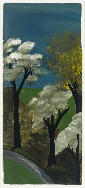 , 'Blue & Green #3,' mid 20th century, Hirschl & Adler