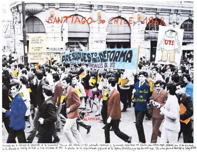 ", 'From the series ""1968, the fire of the ideas"", Santiago de Chile, 1968,' 2014-2017, Henrique Faria Fine Art"