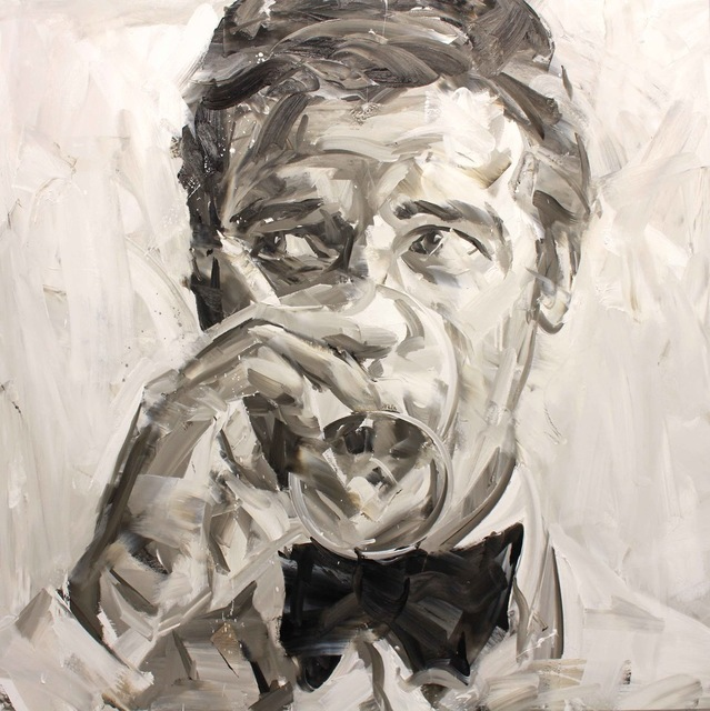 , 'Roger Moore (Black and White),' 2017, Maddox Gallery