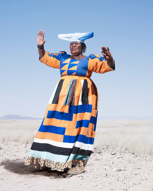 , 'Herero Woman in Orange Dress,' 2012, KLOMPCHING GALLERY