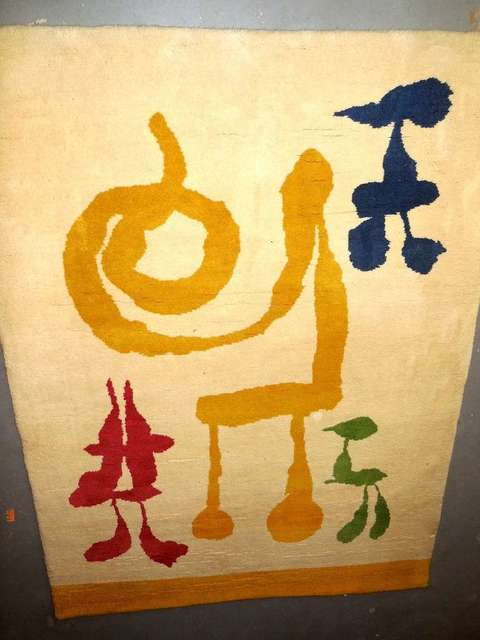 "Joan Miró, 'the ""Dream"" Tapestry Rug', 1960-1969, Lions Gallery"