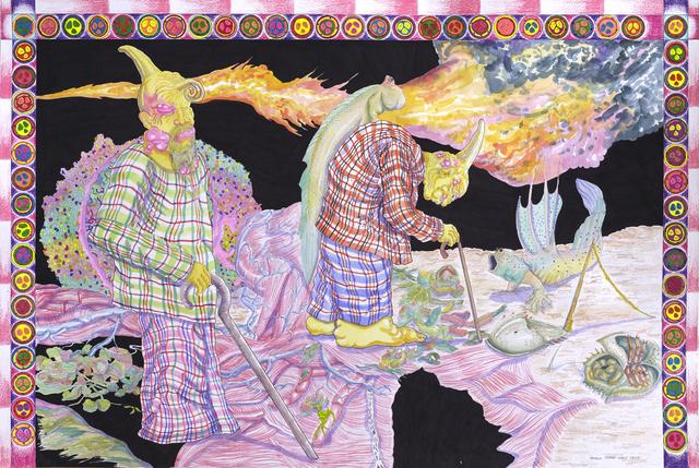 , 'Design to Fire Sari Api,' 2017, Richard Koh Fine Art