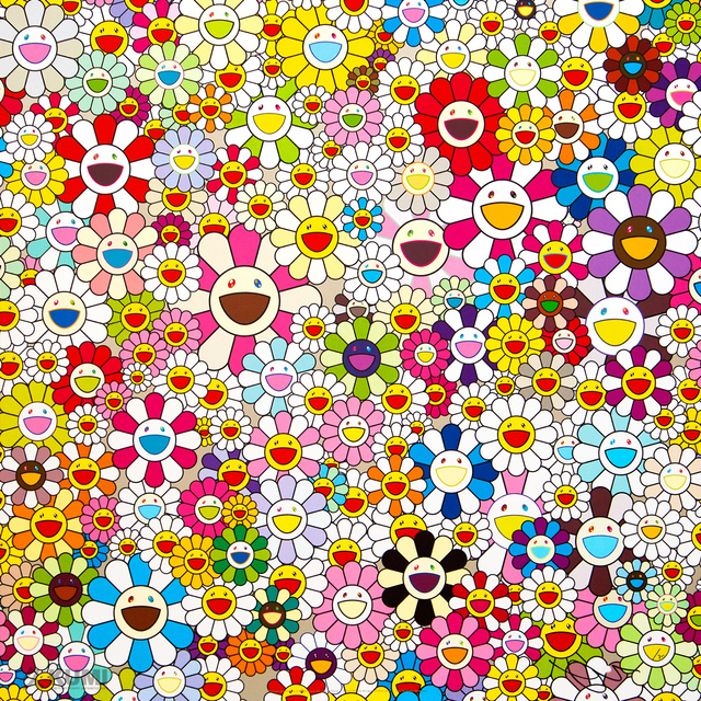 Takashi Murakami, 'Flowers Blooming in This World and the Land of Nirvana, 4', 2013, Kumi Contemporary / Verso Contemporary