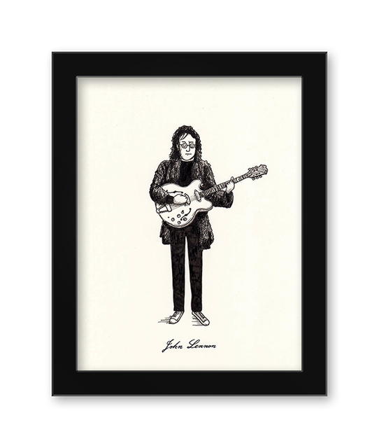 , 'John Lennon,' 2017, Spoke Art