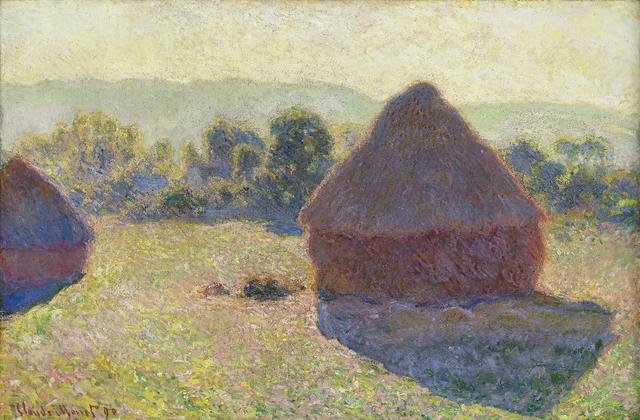 , 'Haystacks, Midday,' 1890, Ordrupgaard