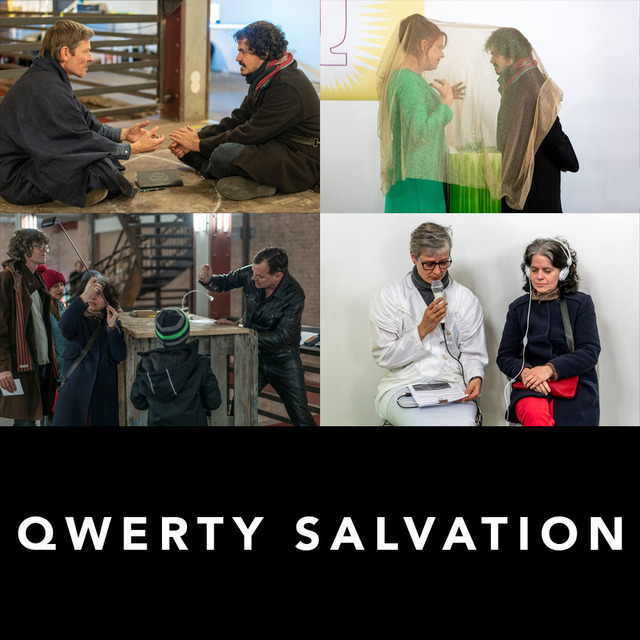 , 'QWERTY Salvation - Relational Performance,' 2018, SHIM Art Network