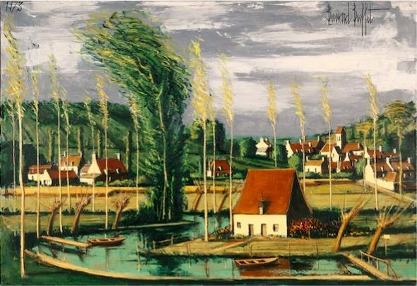, 'Environs de La Rocheport,' 1973, Opera Gallery